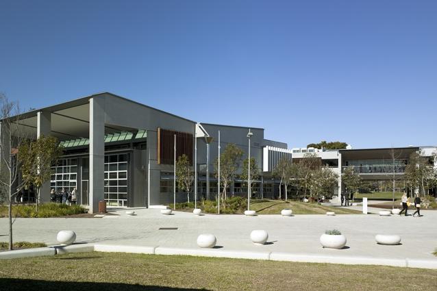 Cranbrook Junior School by Tzannes Associates.