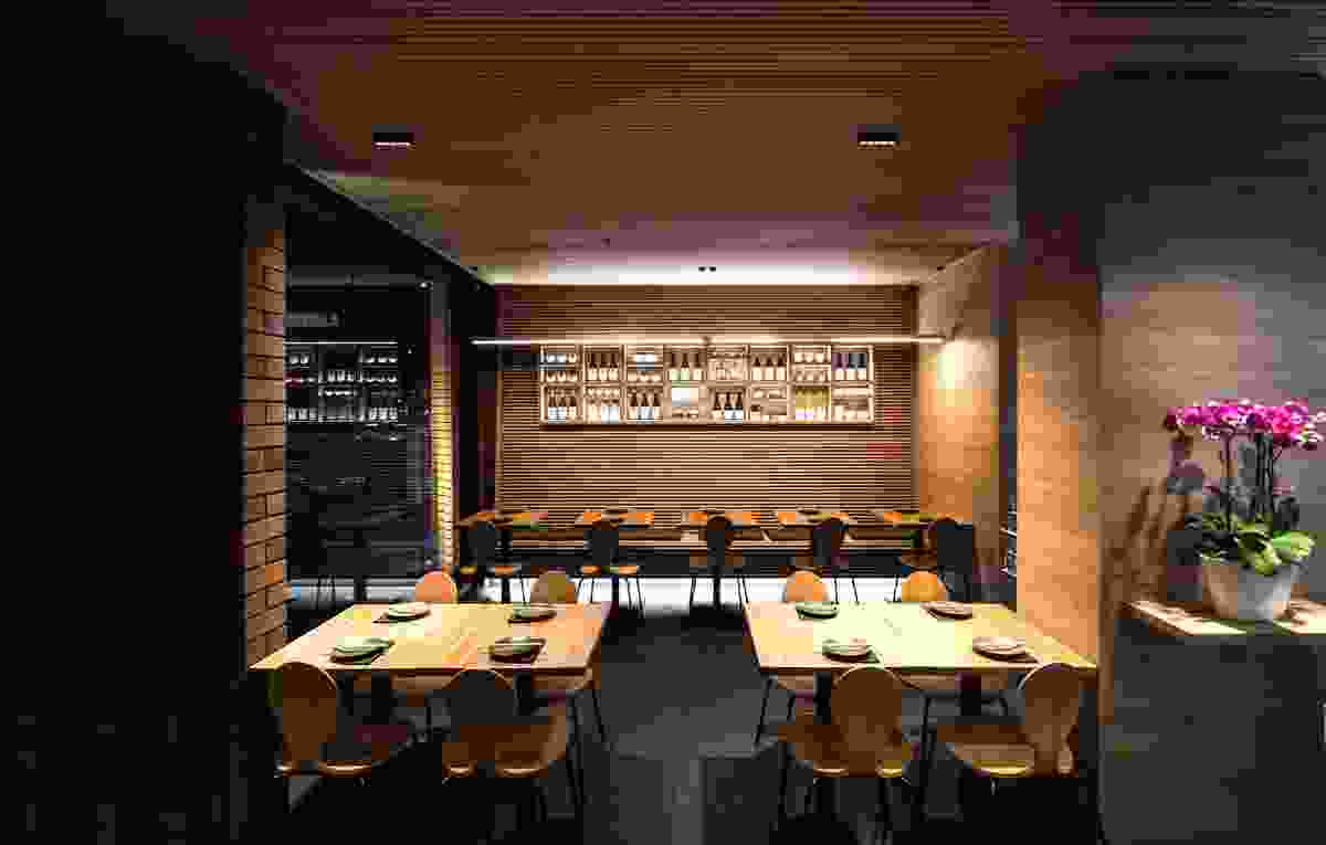Izakaya Michi by Michiru Design Studio in collaboration with Toland Architects.