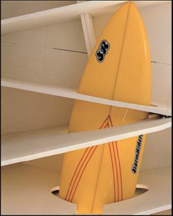A surfboard
