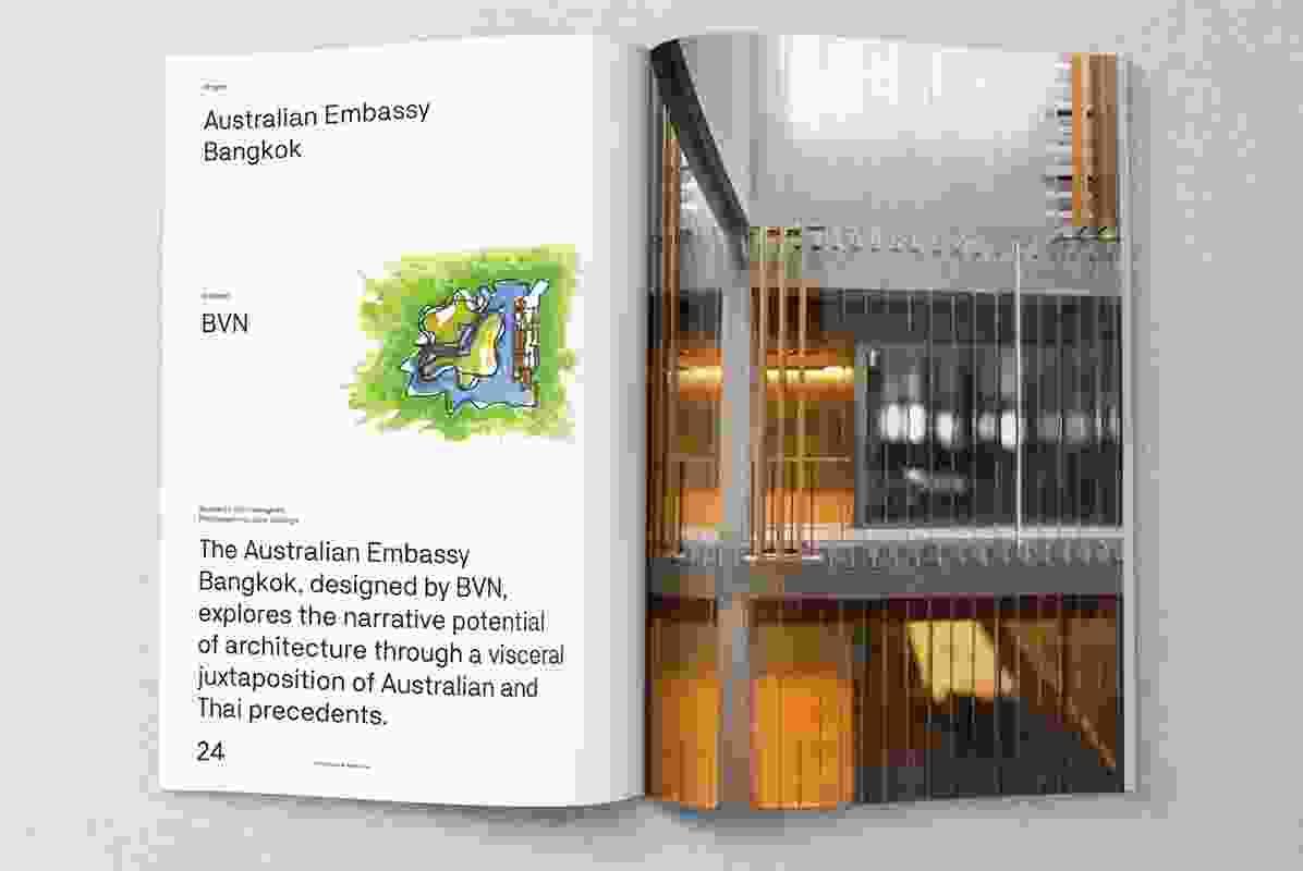 Australian Embassy Bangkok designed by BVN.