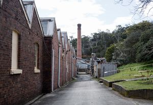 Waverley Woollen Mills, Australia's oldest working textile mill.