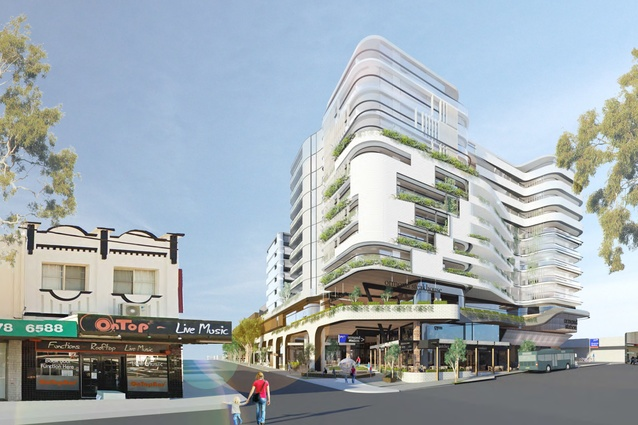 Proposed Ormond Place development designed by Clarke Hopkins Clarke.
