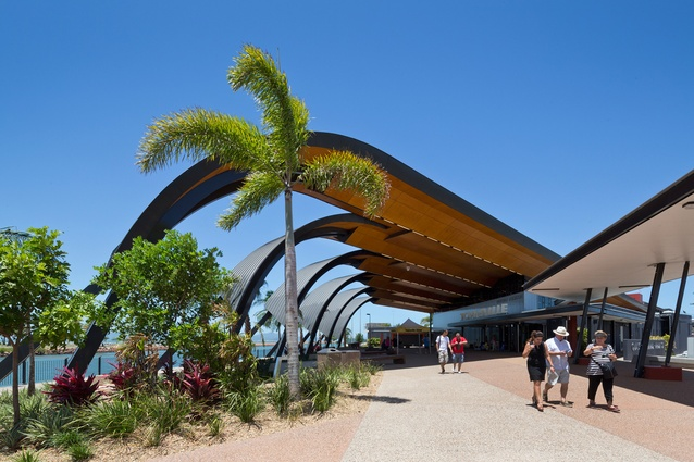 Townsville Cruise Terminal by Arkhefield.