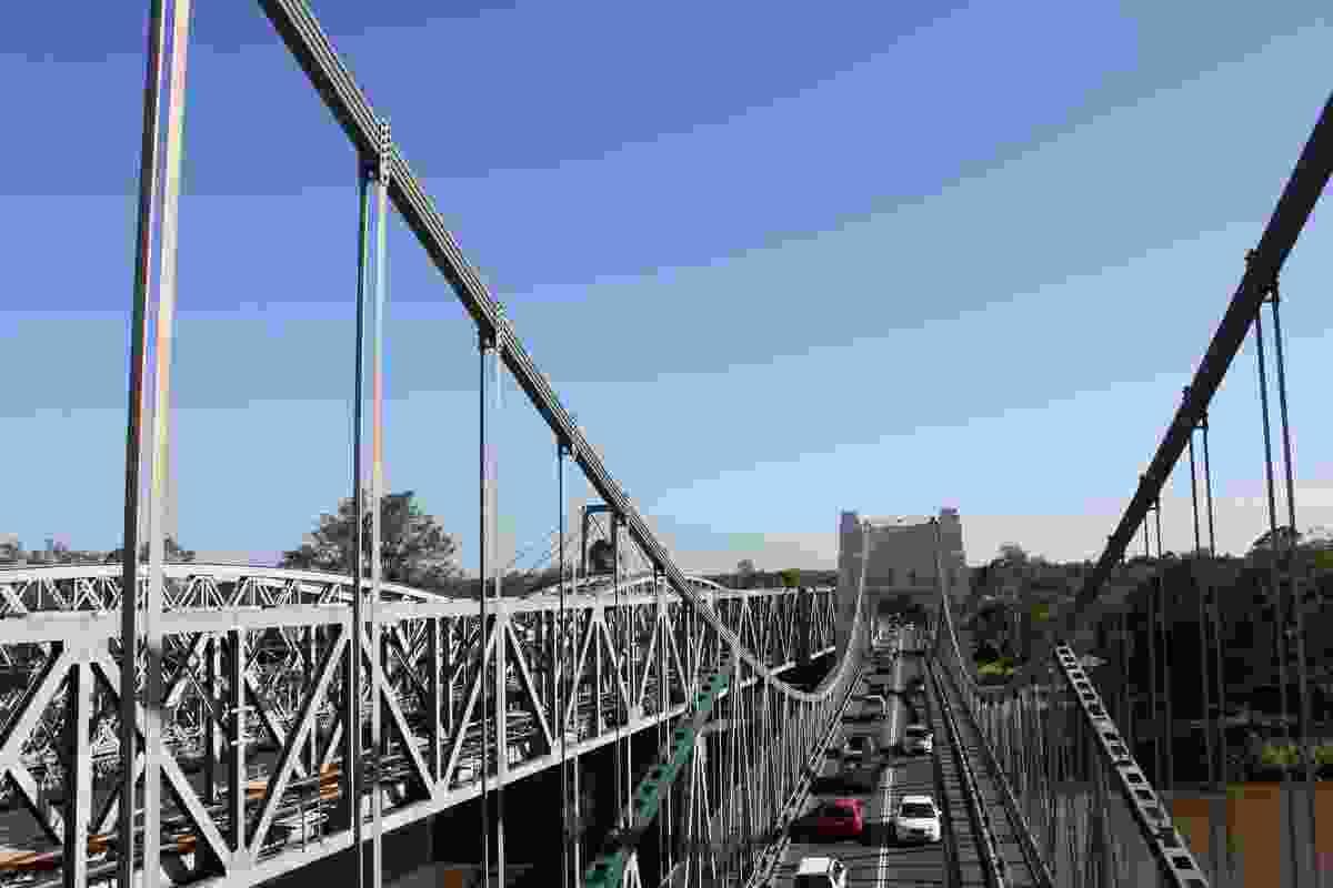 Walter Taylor Bridge by engineers WJ Doak and RJ McWilliam.