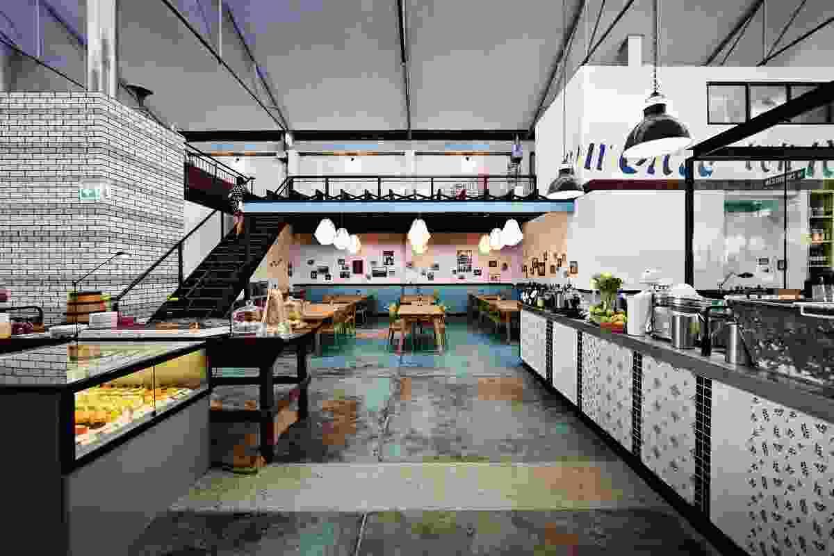 Gordon Street Garage by Foolscap Studio.