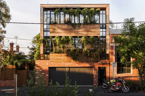 Turner Street Vertical Garden by Simon Ellis Landscape Architecture