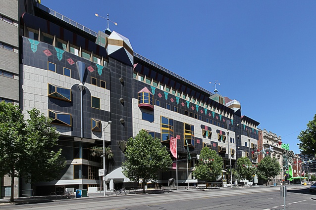 RMIT Building 8 by Edmond and Corrigan.