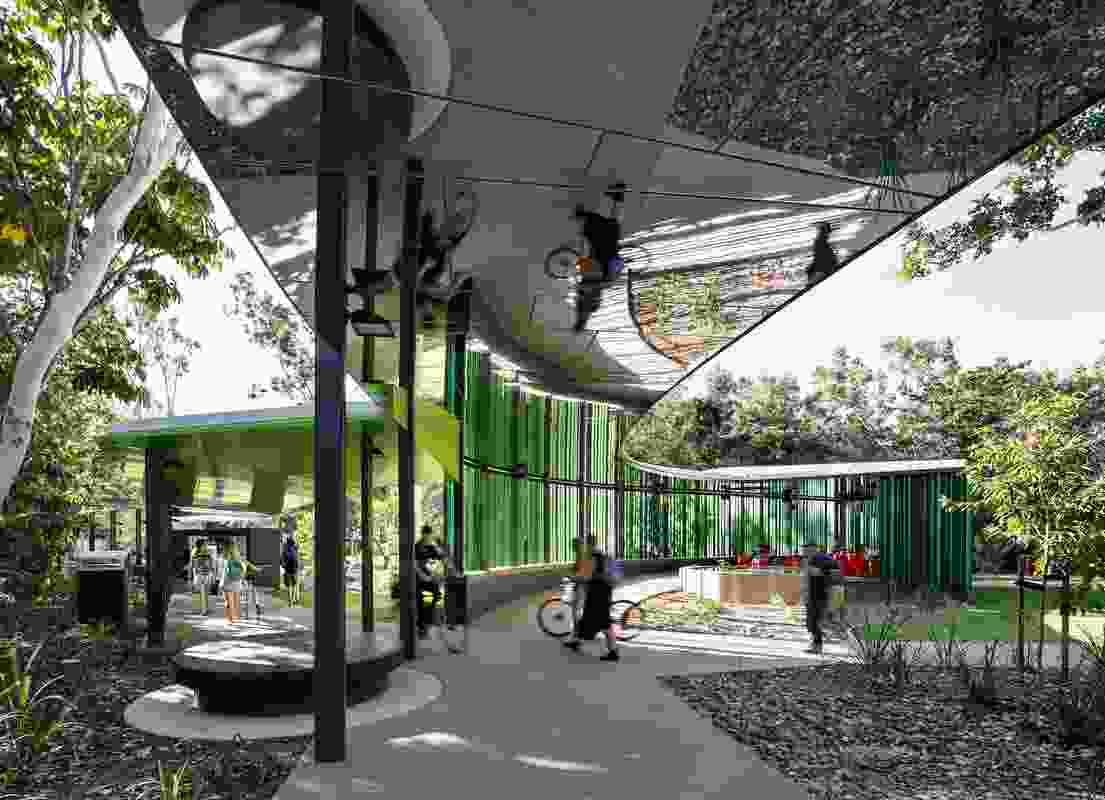 James Cook University Verandah by Walk Wilson Architects.