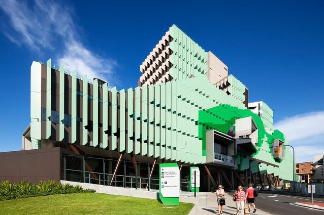 The Lady Cilento Children's Hospital in Brisbane designed by Conrad Gargett Lyons.