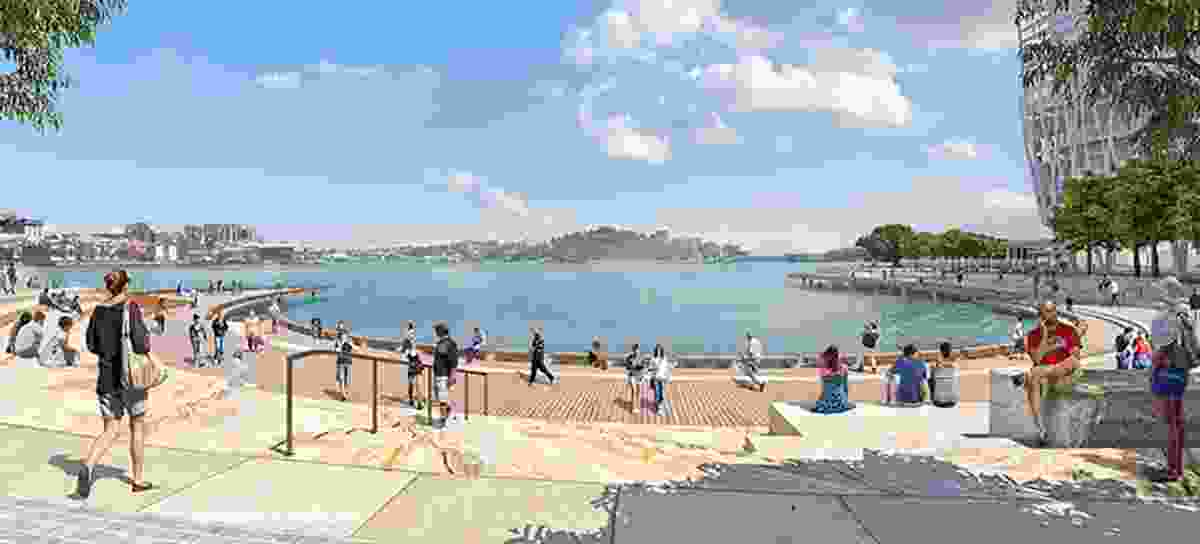 Proposed Watermans Cove, Barangaroo.
