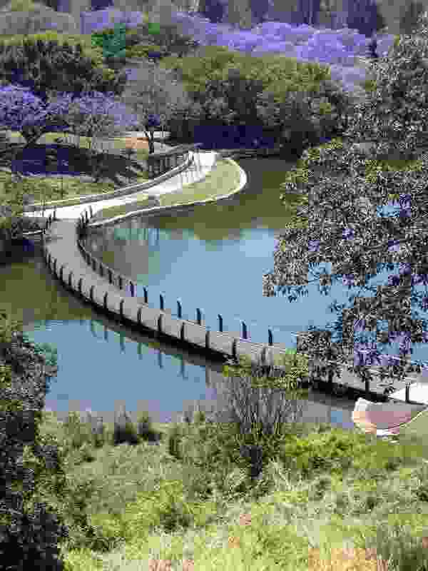 Lakeside Walk at University of Queensland by Wilson Architects.