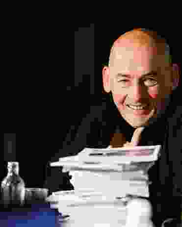 Rem Koolhaas, legend, curator of the 2014 Venice Architecture Biennale.