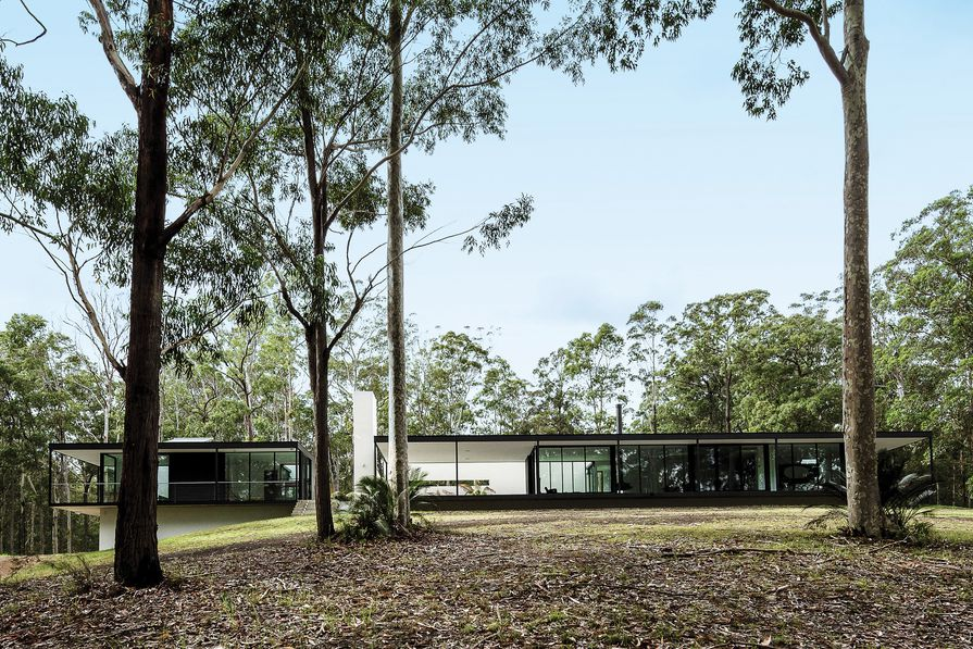 Windywoppa (NSW) by Collins Caddaye Architects.