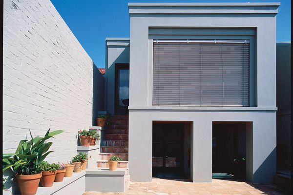 The design of the Henwood House includes generous courtyards and landscaped open space.