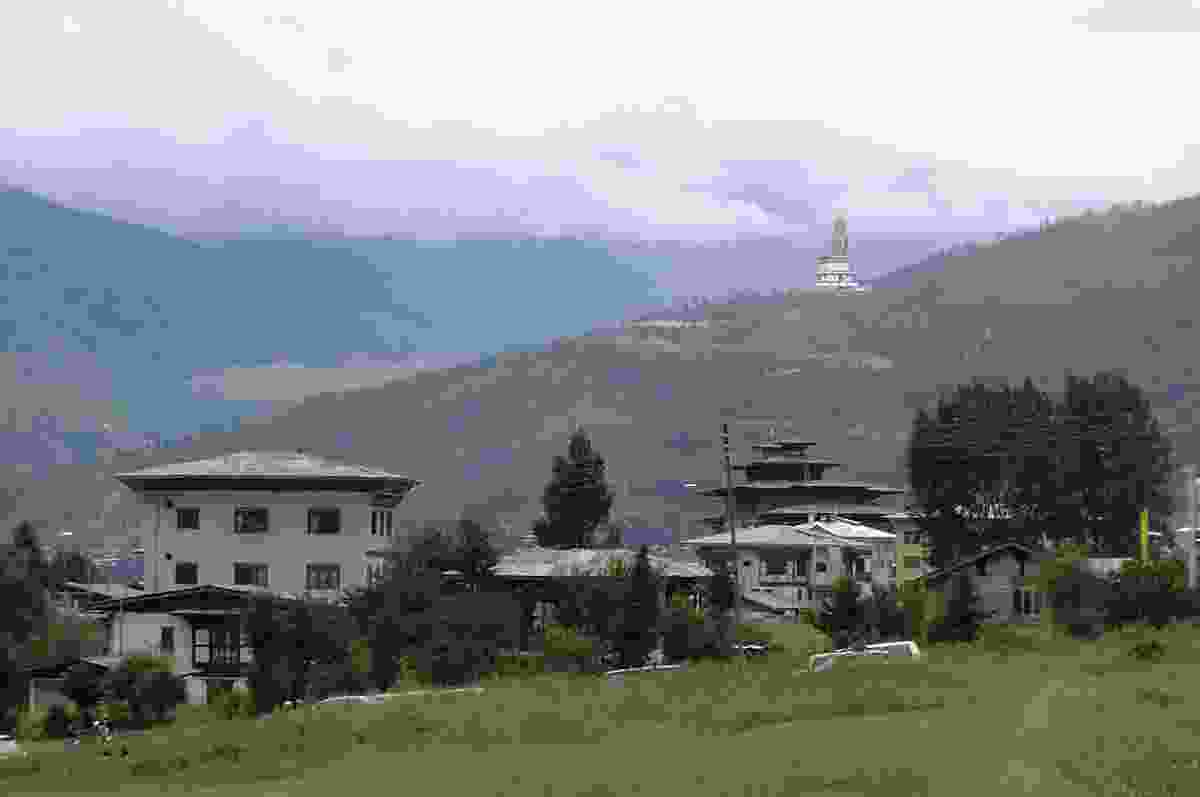 Located at Changri Kunsel Phodrang, Thimphu in Bhutan, once completed the Buddha will be a site of pilgrimage.