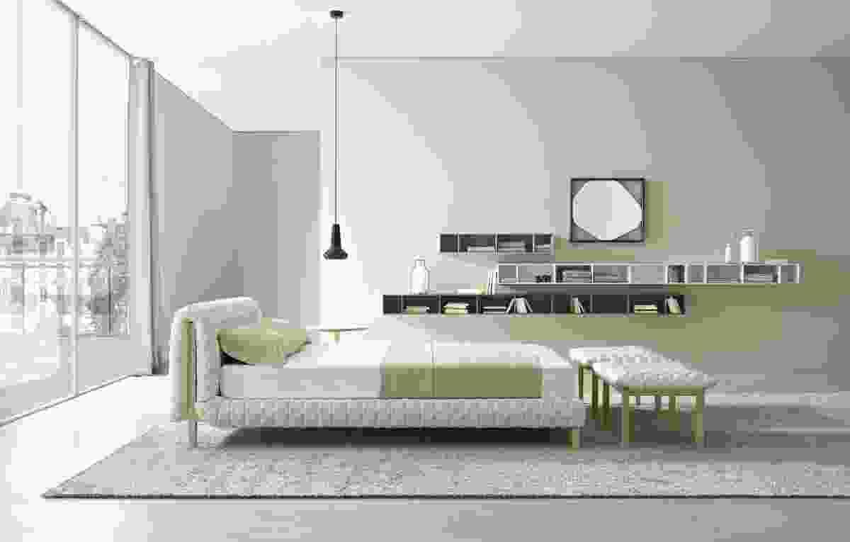 Ruché bed designed by Inge Sempré.