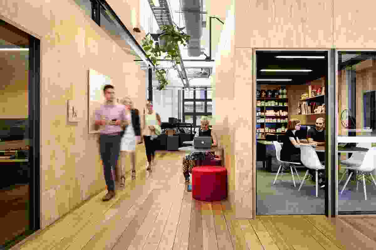 Swisse Victorian Head Office by Six Degrees Architects.
