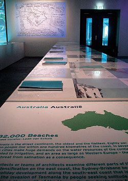 """32,000 Beaches"", Australia's contribution to Mare Nostrum."