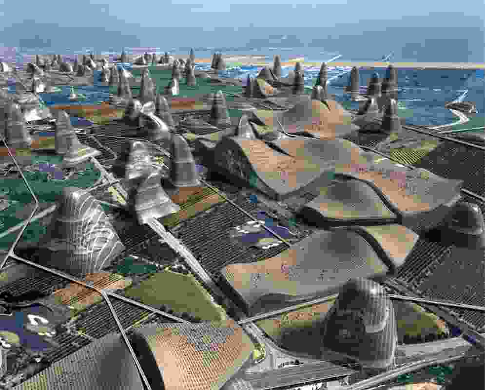 Hypercatalunya by Guallart Architects.