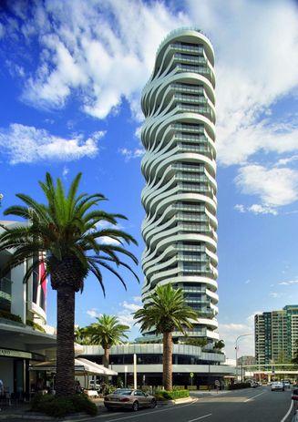 The Wave Apartments Broadbeach Queensland By Dbi Design