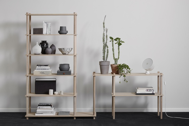 Elevate Shelving System from Woud.
