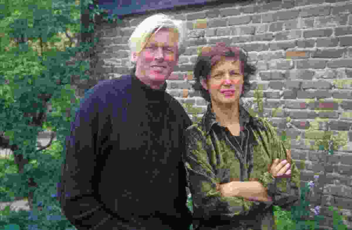 Piet Oudolf with wife Anja, circa 1996.