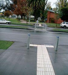 Street furniture.