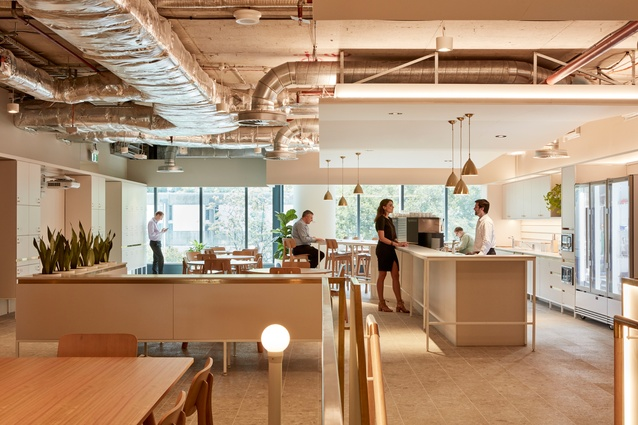 Energy Corporation Workplace by BVN.