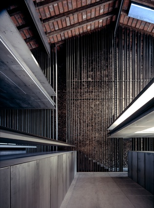 Row House in Olot, Spain by RCR Arquitectes (2012).