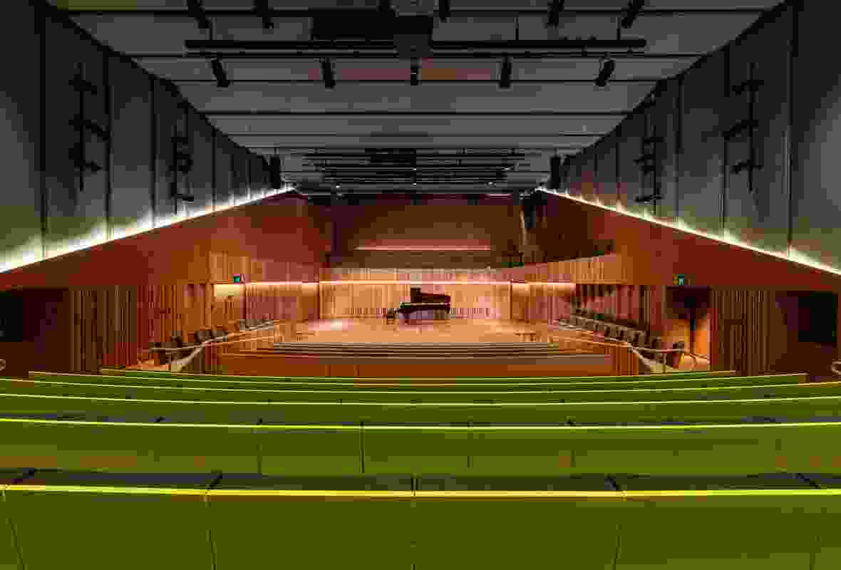 The main auditorium of the Ian Potter Southbank Centre by John Wardle Architects.