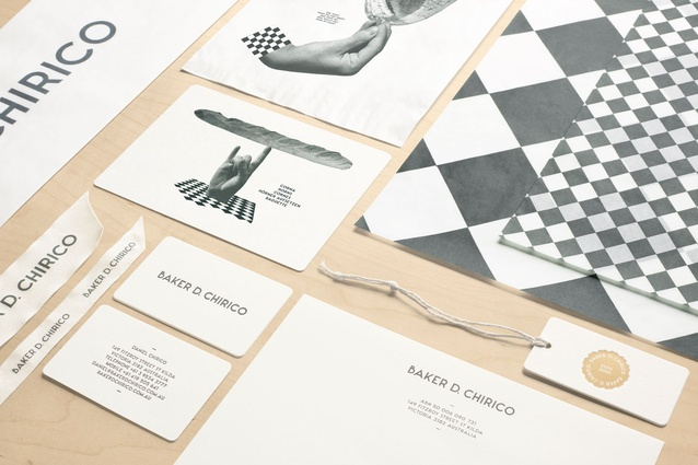 Best Visual Identity Design (joint winner): Baker D. Chiroco by Fabio Ongarato Design.