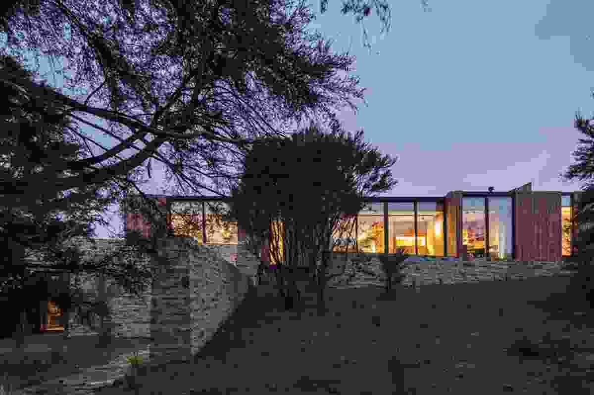 Housing category finalist: Emerald Bluffs House, Wanaka by RTA Studio.