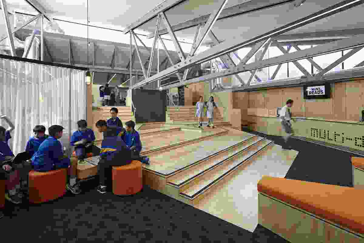 Pamela Coyne Library by Branch Studio Architects