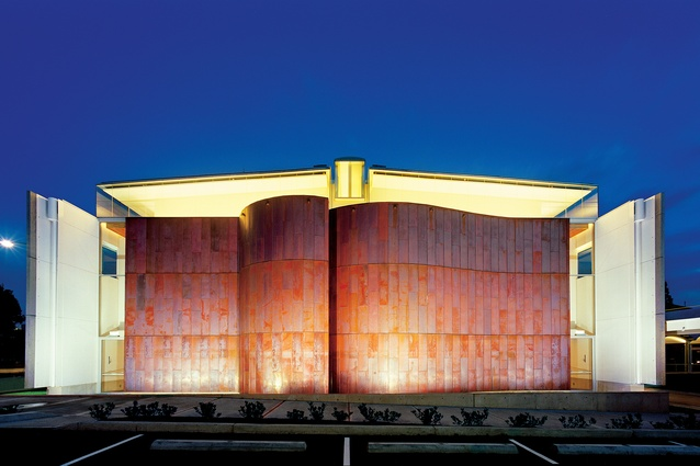 St Patrick's Cathedral in Parramatta, NSW (2003) by MGT Architects with Romaldo Giurgola Architect.