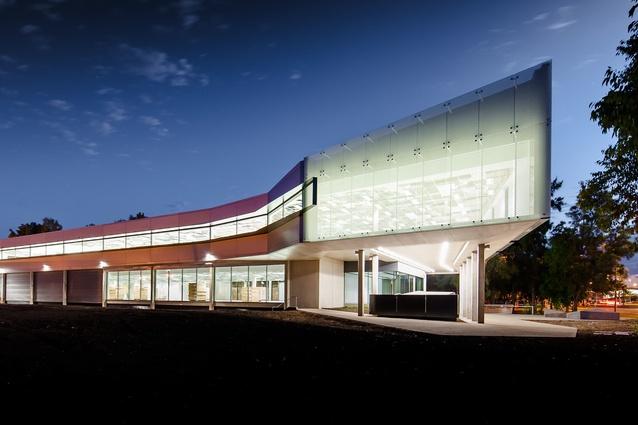 Australian Federal Police Headquarters by Walter Brooke & Associates.