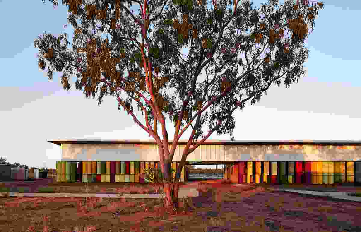 Fitzroy Crossing Renal Hostel by Iredale Pedersen Hook Architects, the winner of last year's overall prize.