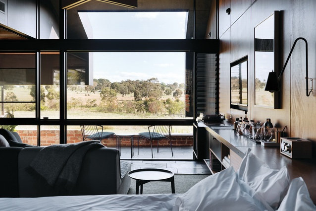 "The design of the Brae guest suites delicately balances ""contemporary cool"" and local traditions."