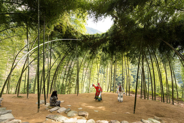 Bamboo Theatre by DnA.