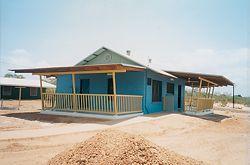 Three-bedroom house, Umbakumba, NT.