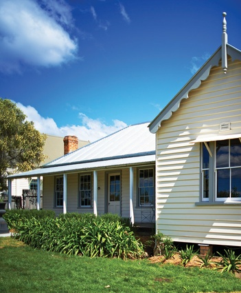 Conservation and Adaptive Reuse of the former Presbyterian Manse Moruya (NSW) by Peter Freeman Conservation Architects + Planners.