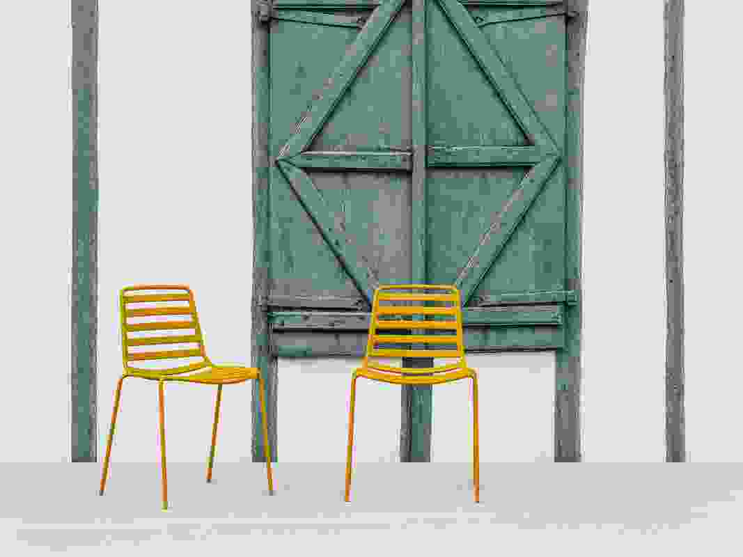 Street chair by Enea.
