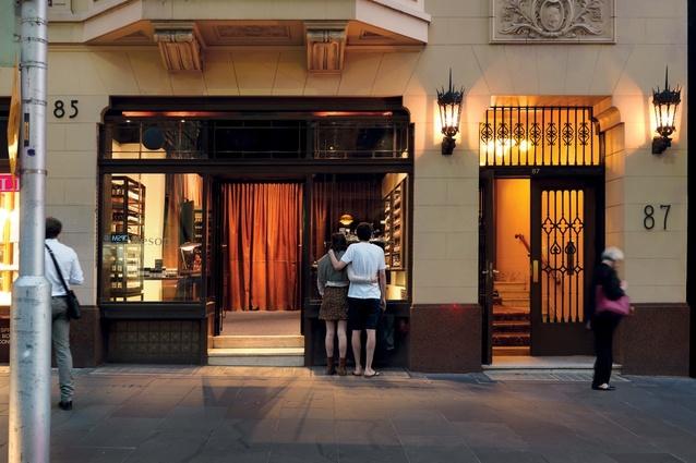 Melbourne: The interior is based on a bespoke gentlemen's salon.
