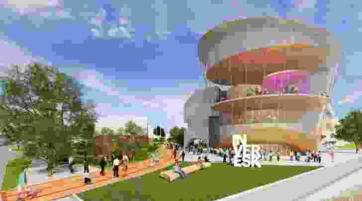 University of Tasmania Launceston masterplan by McBride Charles Ryan.