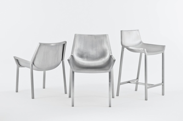 Sezz chair by Emeco.