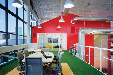 Googleplex by Clive Wilkinson Architects.