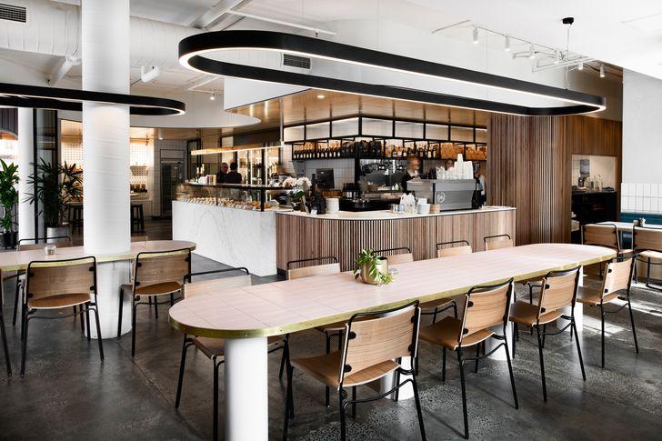 Pierrick Boyer Café Pâtisserie by ZWEI Interiors Architecture.