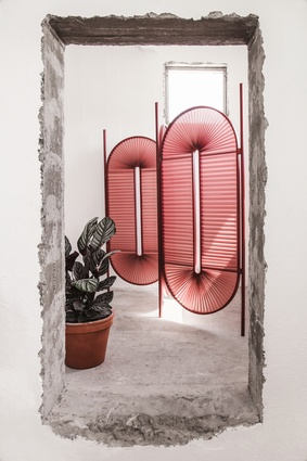 Minima Moralia room divider by Dante Goods and Bads.