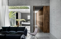 Looking in: Prahran House