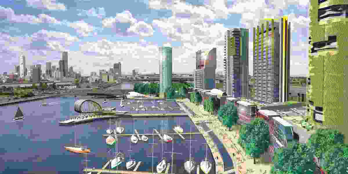 Docklands Masterplan, Melbourne (2001).