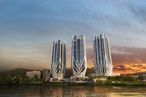 Zaha Hadid's Brisbane towers approved